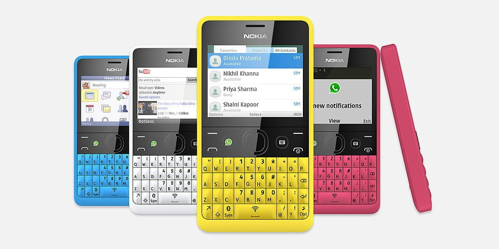 Nokia Asha 210 series40 phones