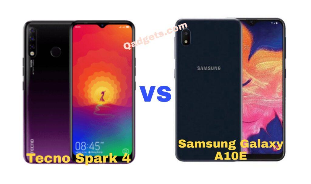 Samsung Galaxy A10e vs. Tecno Spark 4