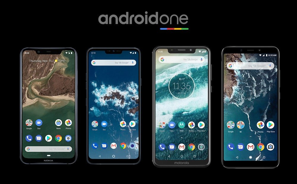 AndroidOne phones